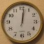 Часы настенные 501-3 (шаговый ход)