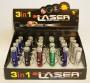 Брелок 3 в 1 (лазер, фонарь, ультрафиолет)