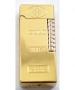 Зажигалка газовая слиток золота №3821