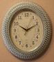 Часы настенные 324B Silver (плавный ход)