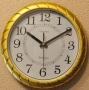 Часы настенные ChangShegn 276 Gold (плавный ход)