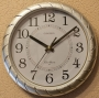 Часы настенные ChangShegn 276 Silver (плавный ход)