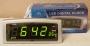 Часы сетевые Caixing CX-818-2 Silver