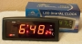 Часы сетевые Caixing CX-818-1 Black
