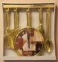 Часы настенные D108R Gold (плавный ход)