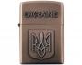 Зажигалка бензиновая герб Украины №4410