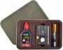 Подарочный набор 3в1 Зажигалка, бензин, мундштук  №4712-1